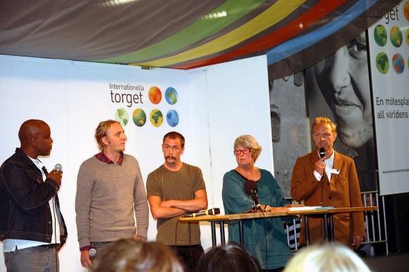 Martin och Johan. Bokmässan Göteborg. 2012.