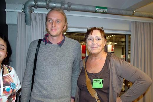 Martin Schibbye. Bokmässan Göteborg. 2012.